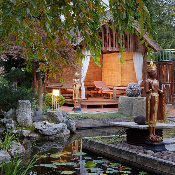 Ganesha's Garden im Ayurveda Resort Mandira World of European Ayurveda Bad Waltersdorf Steiermark