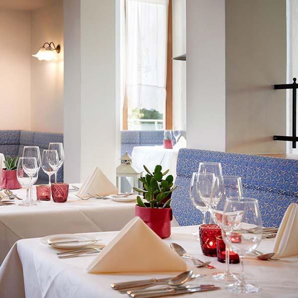 Restaurant im European Ayurveda Resort Mandira Styria - Ayurveda trifft Europe