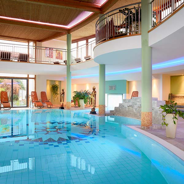 Thermal-Spa im Ayurveda Resort Mandira World of European Ayurveda Bad Waltersdorf Steiermark