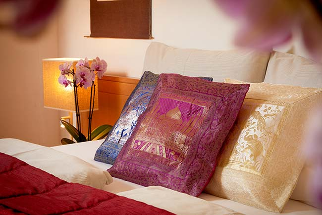 Zimmer und Suiten im Ayurveda Hotel Mandira