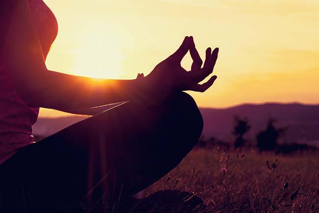 Yoga retreat with meditation at the European Ayurveda Resort Mandira