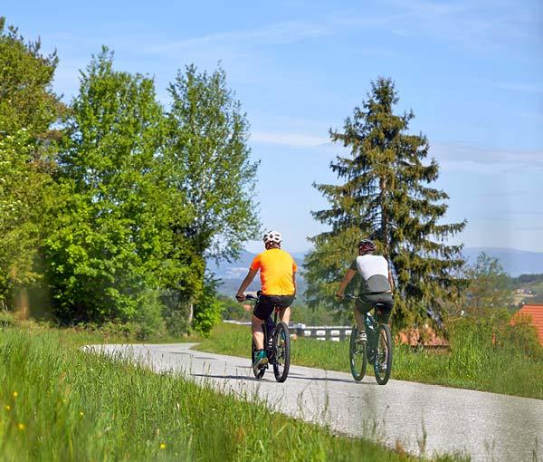 Radfahren in Bad Waltersdorf - European Ayurveda Resort Mandira