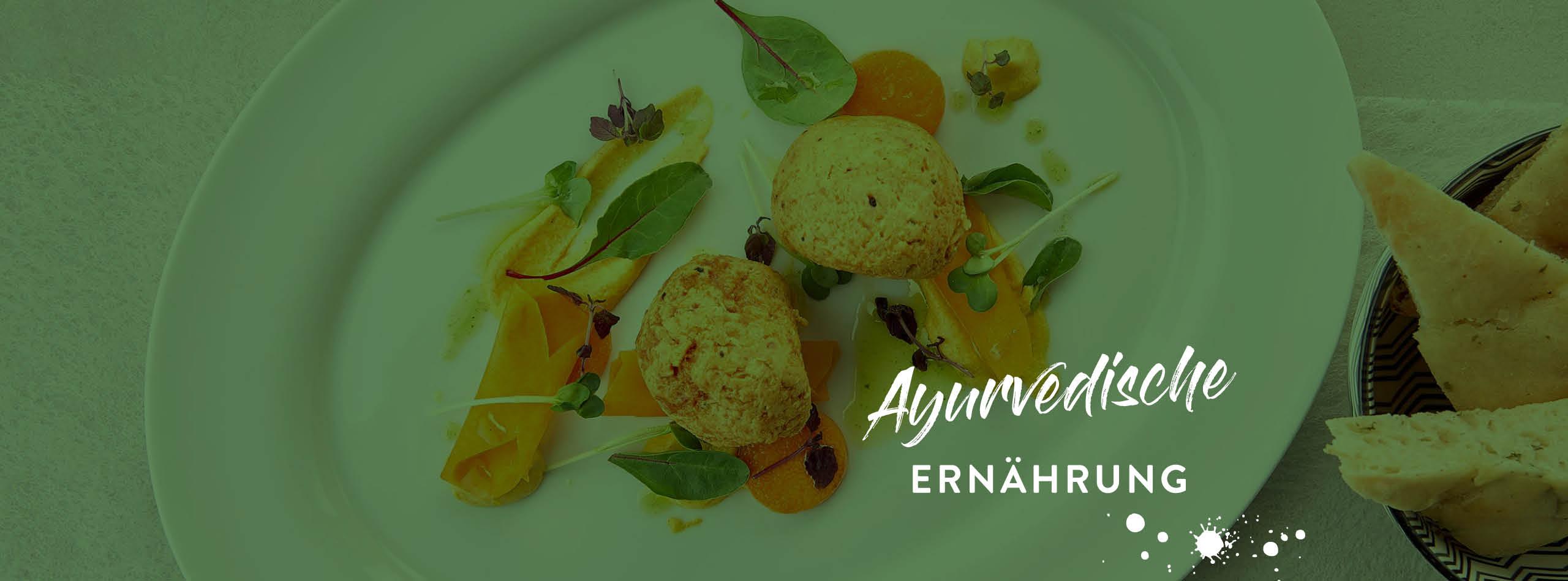 Ayurveda Ernährung im Ayurveda Resort Mandira