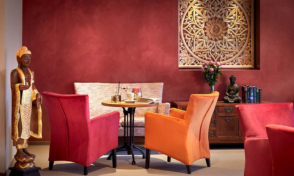 Ayurveda Resort MANDIRA Bar & Lounge Frühlingsgarten Lounge