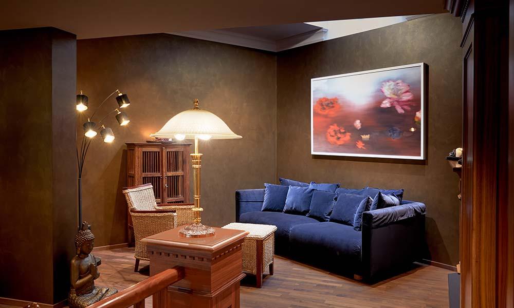 Ayurveda Resort MANDIRA Bar & Lounge Kunstgalerie Lounge