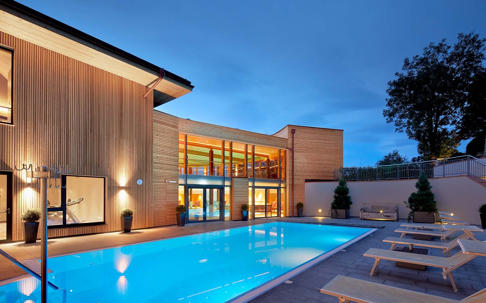 Ayurveda Resort Mandira Bad Waltersdorf Pool