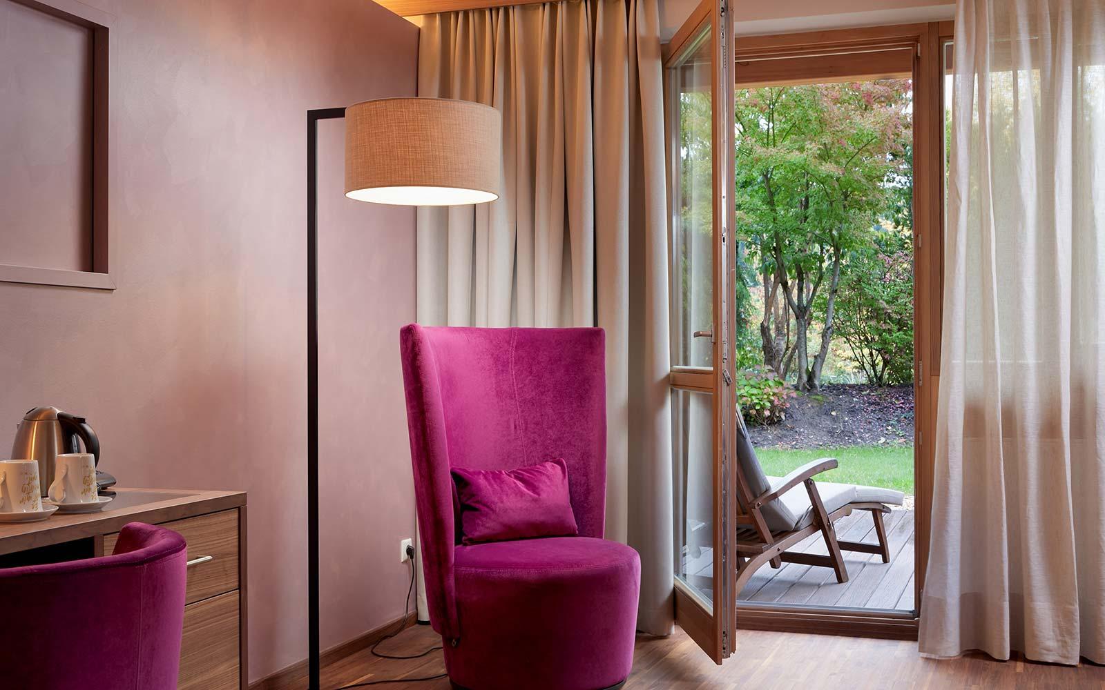 Ayurveda Resort Mandira Bad Waltersdorf Room Garden