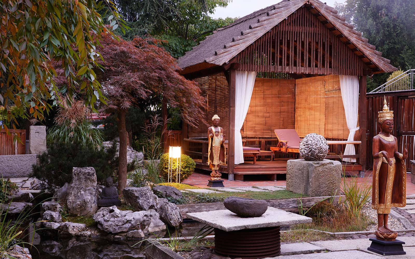 Ayurveda Resort Mandira Bad Waltersdorf Garden