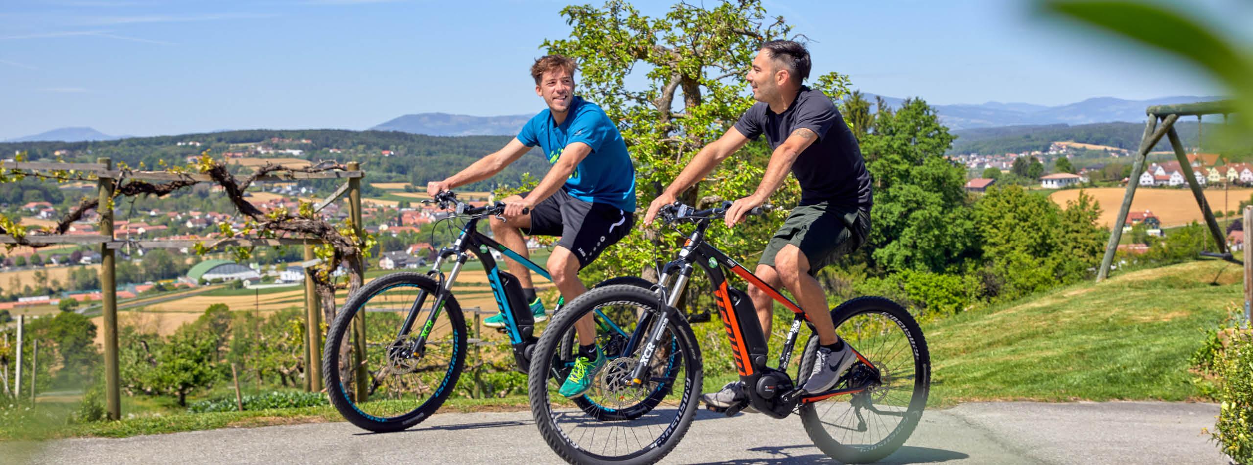 Cycling holidays in Styria at the Ayurveda Resort Mandira