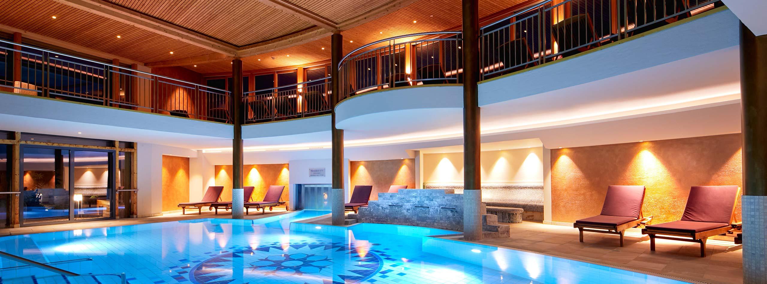 Thermal Spa im Ayurveda Resort Mandira Bad Waltersdorf Steiermark