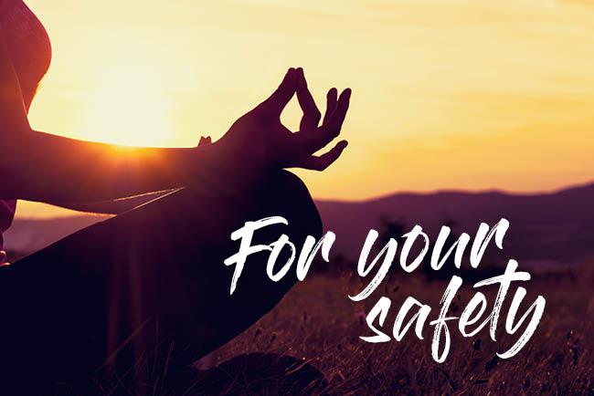 Ayurveda Resort Mandira For your safety